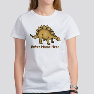 Personalized Stegosaurus T-Shirt