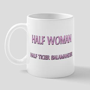 Half Woman Half Tiger Salamander Mug