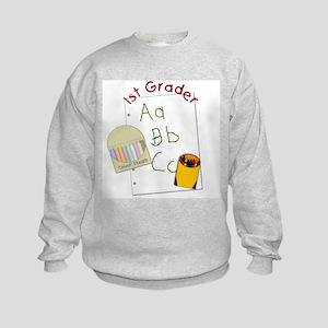 First Grader Kids Sweatshirt