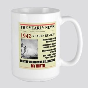 1942-birth Large Mug