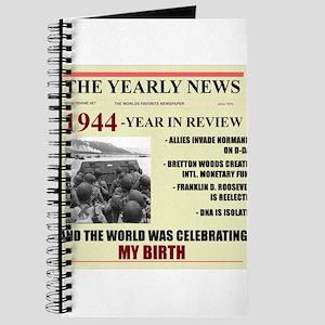 born in 1944 birthday gift Journal