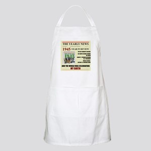 born in 1945 birthday gift BBQ Apron
