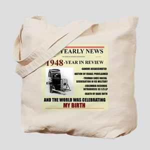 born in 1948 birthday gift Tote Bag