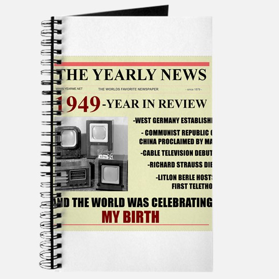 born in 1949 birthday gift Journal