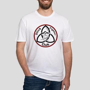 Stick Fighter Club stuff Fitted T-Shirt