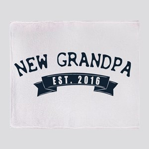 new grandpa Throw Blanket