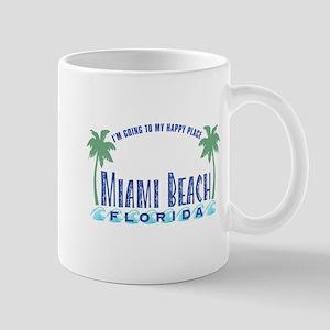 Miami Beach Happy Place - Mug