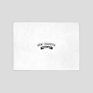 new grandpa 5'x7'Area Rug