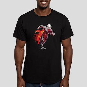 Ant-Man Running Men's Fitted T-Shirt (dark)