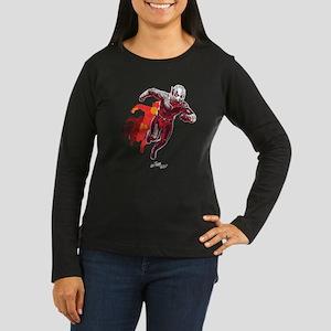 Ant-Man Running Women's Long Sleeve Dark T-Shirt