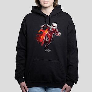 Ant-Man Running Women's Hooded Sweatshirt