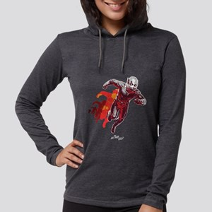 Ant-Man Running Womens Hooded Shirt