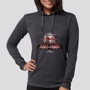 Ant-Man Distortion Womens Hooded Shirt