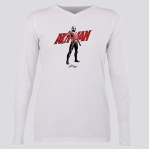 Ant-Man Standing Plus Size Long Sleeve Tee