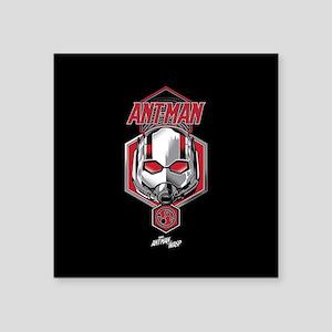 "Ant-Man Helmet Square Sticker 3"" x 3"""