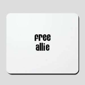 Free Allie Mousepad