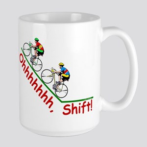 Ohhhhh, Shift Large Mug