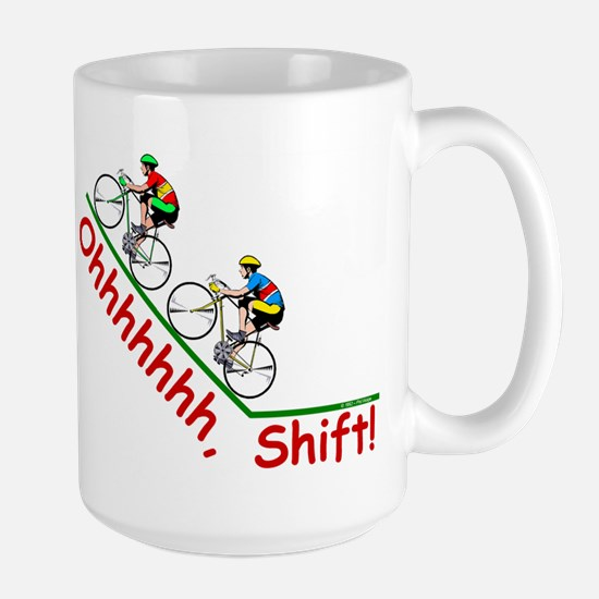 Ohhhhh, Shift Large Mug