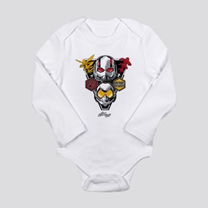 Ant-Man & The Wasp Tri Long Sleeve Infant Bodysuit