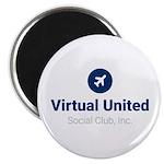 Official Blue VUSCI Logo Magnets