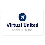 Official Blue VUSCI Logo Sticker