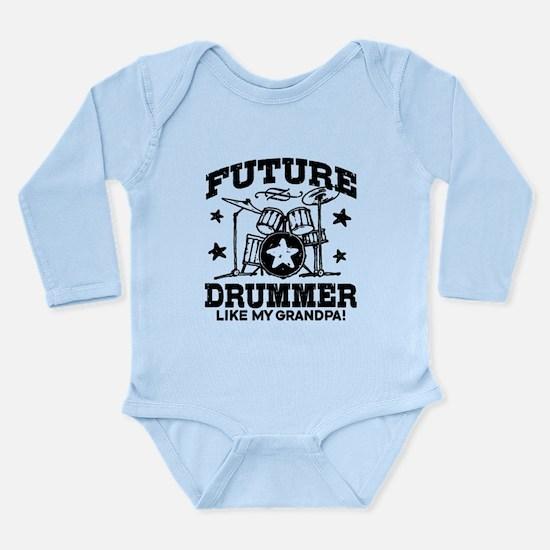 Future Drummer Like My Onesie Romper Suit