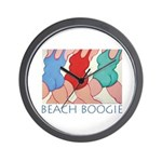 Beach Boogie Wall Clock