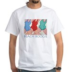 Beach Boogie White T-Shirt