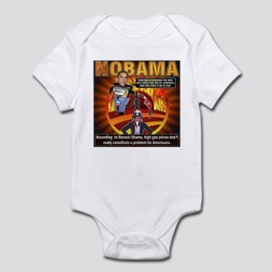 Obama on oil and gas Infant Bodysuit