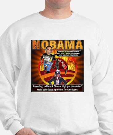 Obama on oil and gas Sweatshirt