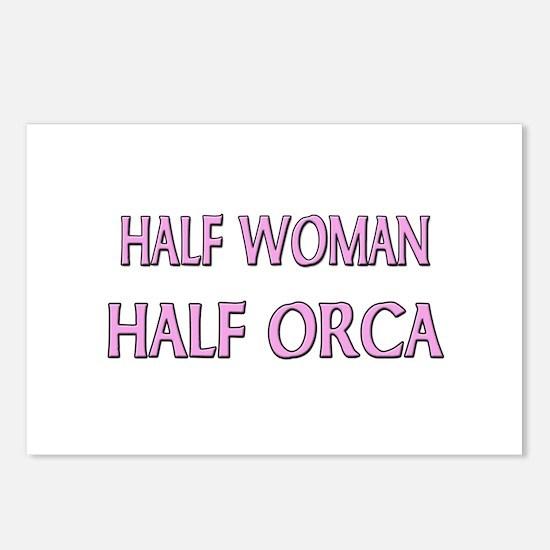 Half Woman Half Orca Postcards (Package of 8)