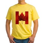 Canada Souvenir Yellow T-Shirt
