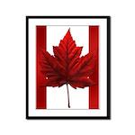 Canada Souvenir Framed Panel Print