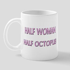 Half Woman Half Octopus Mug