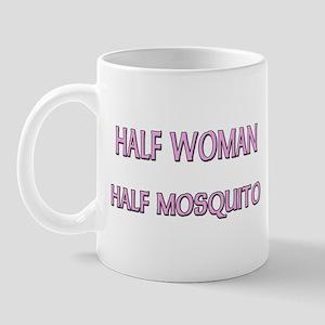 Half Woman Half Mosquito Mug
