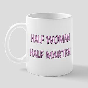 Half Woman Half Marten Mug