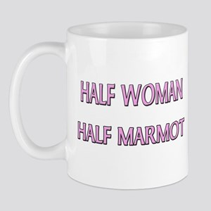 Half Woman Half Marmot Mug