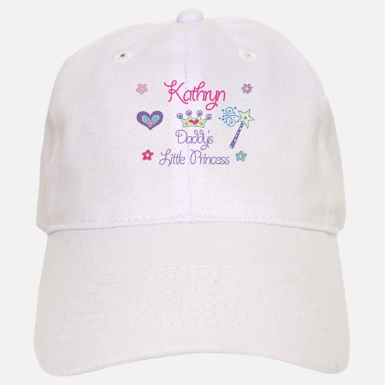 Kathryn - Daddy's Princess Baseball Baseball Cap