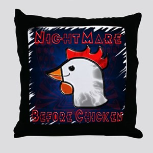 Nightmare Before Throw Pillow