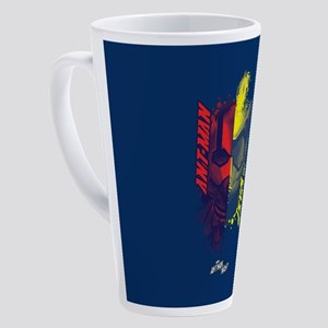 Ant-Man & The Wasp Halves 17 oz Latte Mug