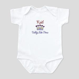 Kaleb - Daddy's Prince Infant Bodysuit