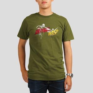 Ant-Man & The Wasp Organic Men's T-Shirt (dark)