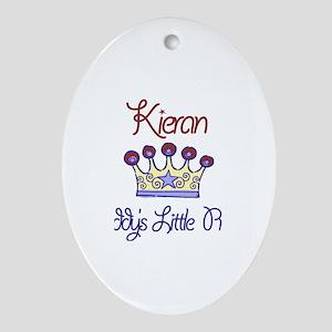 Kieran - Daddy's Prince Oval Ornament