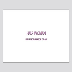 Half Woman Half Horseshoe Crab Small Poster