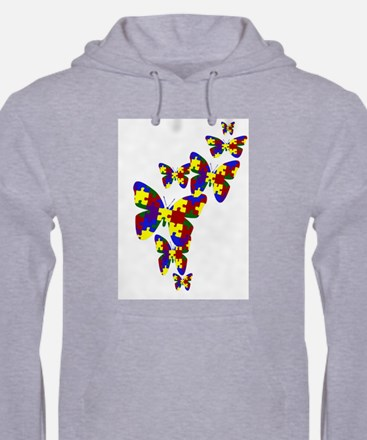 Burst of butterflies Jumper Hoody