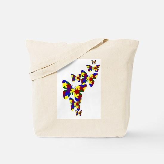Burst of butterflies Tote Bag
