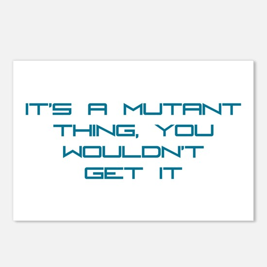 It's a Mutant Thing Postcards (Package of 8)