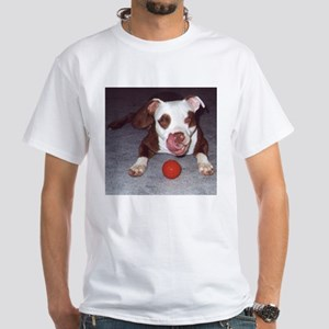Just Fetch It White T-Shirt