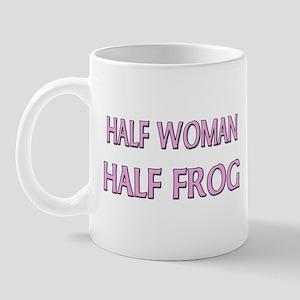 Half Woman Half Frog Mug