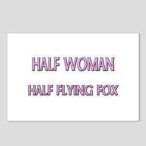 Half Woman Half Flying Fox Postcards (Package of 8